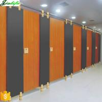 Best Door toilet partition wood grain in Guangzhou China wholesale