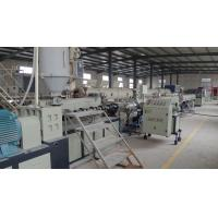 Buy cheap Single Screw Multi layer Pipe Extrusion Machine / Pvc Pipe Production Line from wholesalers