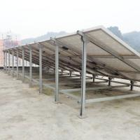 Best Solar Photovoltaic Pile Ground Mount Solar Racking , Solar Panel Ground Mount Kit Adjustable wholesale