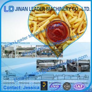 Best Jinan leader Potato chips sticks food processing line,automatic machine best quality wholesale