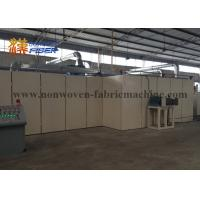 Best Steam Heating Non Woven Fabric Production Line Spray / Thermal Bonding wholesale