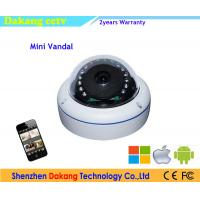 Dome Video Waterproof IP Camera Wide Angle Support Remote Monitoring