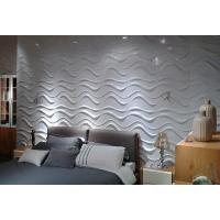 Plastic Wall Cladding Textured Exterior 3D Wall Panels