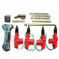 Best Red Car Central Locking System with 7kg Endurance for 4 Doors wholesale