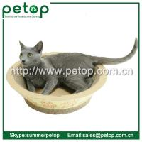 Best Recycled paper Corrugated cat scratcher lounge wholesale