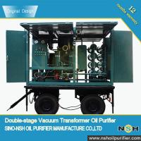 Stainless Steel Dehydrator Vacuum Oil Purifier For Treating Electrical Insulating Oil