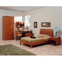 Best Classic Single bed design wooden bedroom furniture by Shenzhen factory for Residential and apartment project use wholesale