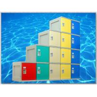 Best Yellow 4 Tier Lockers with On - Site Assembly For Swimming Pool wholesale