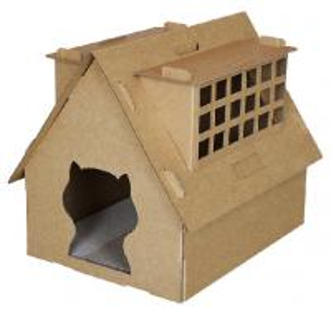Best cardboard cat scratcher cat house with scratchers folding cat house wholesale