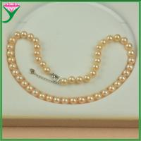 Best chinese imports wholesale Natural pink freshwater pearl jewelry necklace wholesale