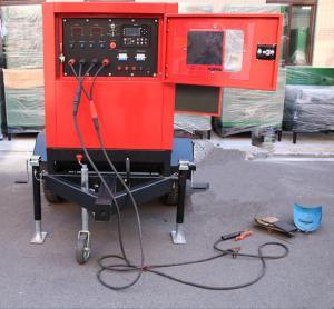 Best 75 Volt Welding Machine Genset Diesel Generator Miller 400-500 Amp Engine Driven wholesale