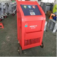 China Vacuum Refill R134a Refrigerant Recovery Machine , Air Conditioning Charging Equipment on sale
