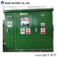 Best Green color substation transformer with compact size wholesale