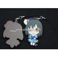 Best Japanese anime pvc rubber pendants custom for phone bag keychains wholesale