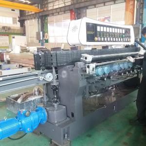 China High Efficiency Glass Straight Line Beveling Machine Double Glazing Equipment,Straight-Line Glass Beveling Machine on sale
