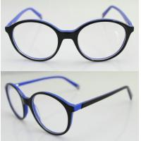 Best Fashion Round Blue Acetate Optical Frame For Men, Women 47-20-137mm wholesale