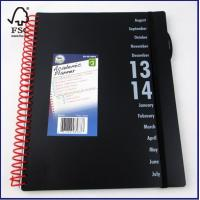 Best English Daily Planner Notebook with PP cover, 72 dated inside sheets wholesale