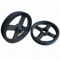 Best V-belt pulleys, customized specifications are accepted, OEM orders are welcome wholesale