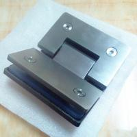 China Stainless steel glass to glass 135 degree corner hinge on sale