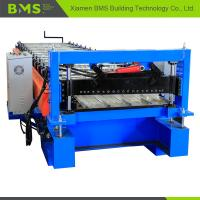 Best Quick Speed Corrugated Steel Panel Roll Forming Machine 75mm/85mm Shaft wholesale