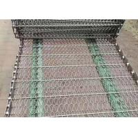 China Bisuit Baking Food Grade Stainless Steel Mesh belt High Temperature Resistant on sale