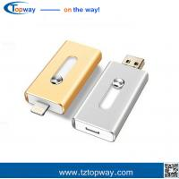 Best OTG usb flash drive for IPhone 6 6Plus 5 5S 5C ipad ipod memory stock 8g wholesale