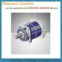 China 90mm planetary gear boxes with 4:1 gear ratio arcmin less than 3arcmin with higher backlash on sale