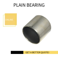 Best Easy To Install Highly Durable Tin Or Copper Plating Oiles Plastic Plain Bearings Textile Machinery Spare Parts wholesale