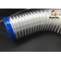 Best All Sizes Multi Function Semi Rigid Aluminum Air Duct / Flexible Air Intake Duct wholesale