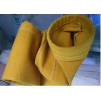 Best P84 Polyimide Baghouse Filter Bags High Tensile Strength Customized Size wholesale