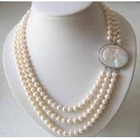 Best Wonderful Rare Chinese Fresh Water Pearl Bead Necklace wholesale
