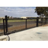 Best Hercules Tubular Steel Fence Panels Residential / Garrison Interpon Caoted Fencing wholesale
