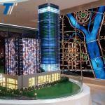 Best LED lighting Architectural scale model , creative design model wholesale