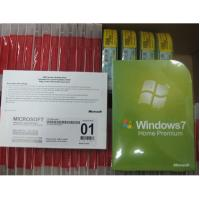 Best Genuine Windows 7 Home Premium DVD 32/64 BIT Sp1 OEM Package Product Key Code wholesale