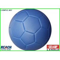 China Pebble Surface Leather Soccer Ball Made By Basketball PVC Leather wholesale