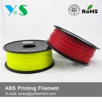 Best Durable Red 3D Printer Filaments 3.0mm Plastic High Toughness For Ultibot wholesale