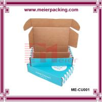 Best Foldable custom printed shipping boxes for clothes ME-CU001 wholesale