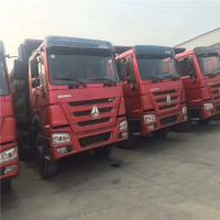 Best Used Chinese Sinotruk Howo 3 axles 6x4 used U-Shaped Dump Truck/Midele lifting for sale in Africa wholesale
