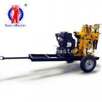 Best Huaxia master supply wheeled hydraulic water well drill rig machine civil water well digging equipment for price wholesale