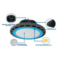 Buy cheap 2018 NEWEST Emergency support 150W UFO high bay light 130LPW for warehouse from wholesalers
