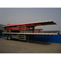 Buy cheap 13m Length Flat Bed Concrete Mixer Trucks For Transporting 40