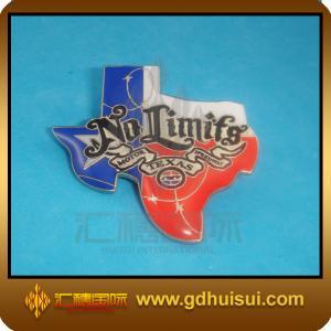 China cheap custom brass badge pin on sale
