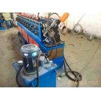 Best 2.5 Tons 3Kw Metal Stud And Track Roll Form Machine with 10 Roller Stations wholesale