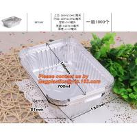 Best food container aluminum foil baking tray,lubricated foil containers aluminium foil tray manufacture for lunch food packi wholesale