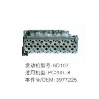 Best 6D107 Diesel Engine Cylinder Head Fit Excavator PC200-8 Diesel Cylinder Head wholesale