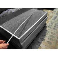 China Side Access Demister Air Filter Mesh Pad With Screen Grids And Bracket on sale