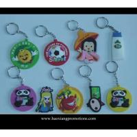 Best eco-freindly professional keyring supplier OEM custom soft pvc keychain wholesale