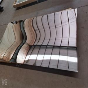 "Best 22 Gauge 030"" 2b No 8 8K Mirror Stainless Steel Sheet 48 X 96 Ss Mirror Finish Sheet wholesale"