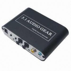 Best 5.1Channel DTS AC-3 Digital Audio Gear Decoder Sound 3X 3.5mm Output SPDIF PS3 wholesale