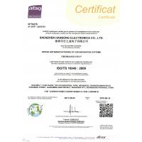 Shenzhen Hansong Electronics Co., Ltd Certifications